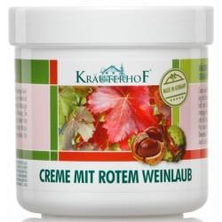 Krauterhof - krema z rdečim vinskim listjem