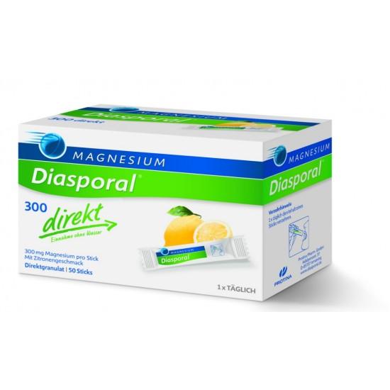 Magnesium - Diasporal 300 mg Direkt, 50 vrečk Prehrana in dopolnila