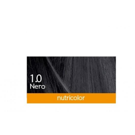 Biokap Nutricolor 1.0, barva za lase  - črna Kozmetika