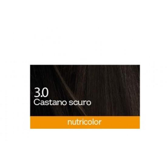 Biokap Nutricolor 3.0, barva za lase  - temno kostanjeva Kozmetika