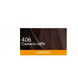 Biokap Nutricolor 4.06, barva za lase  - kavno kostanjeva