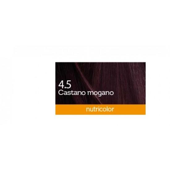 Biokap Nutricolor 4.5, barva za lase  - mahagonij kostanjeva Kozmetika