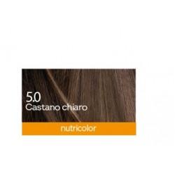 Biokap Nutricolor 5.0, barva za lase  - svetlo kostanjeva