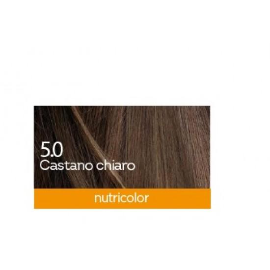 Biokap Nutricolor 5.0, barva za lase  - svetlo kostanjeva Kozmetika