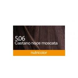 Biokap Nutricolor 5.06, barva za lase  - muškatni oreh