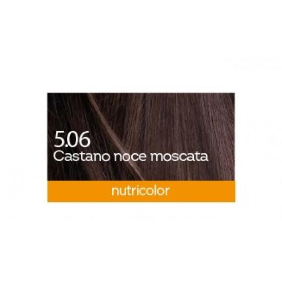 Biokap Nutricolor 5.06, barva za lase  - muškatni oreh Kozmetika