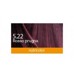 Biokap Nutricolor 5.22, barva za lase  - rdeča sliva