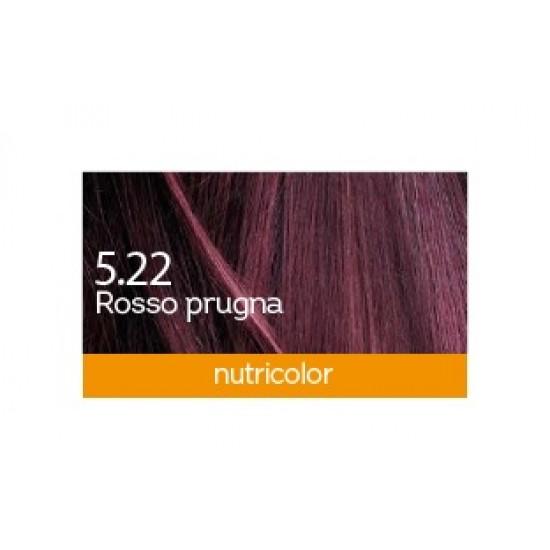 Biokap Nutricolor 5.22, barva za lase  - rdeča sliva Kozmetika