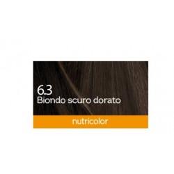 Biokap Nutricolor 6.3, barva za lase  - temno zlato blond
