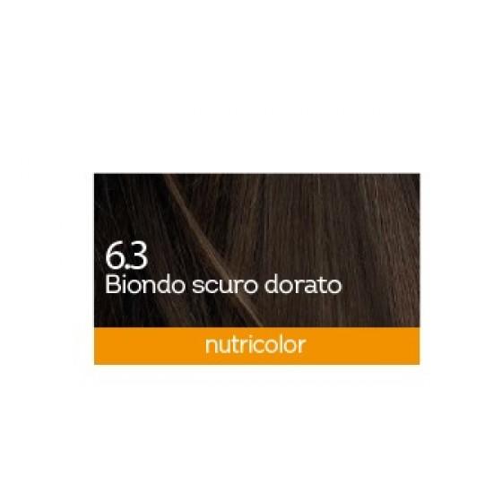 Biokap Nutricolor 6.3, barva za lase  - temno zlato blond Kozmetika