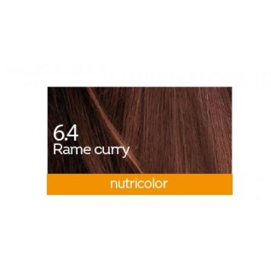 Biokap Nutricolor 6.4, barva za lase  - bakreno kari Kozmetika