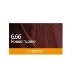Biokap Nutricolor 6.66, barva za lase  - rubinasto rdeča