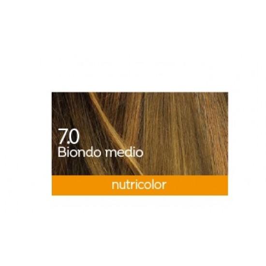 Biokap Nutricolor 7.0, barva za lase  - srednje blond Kozmetika