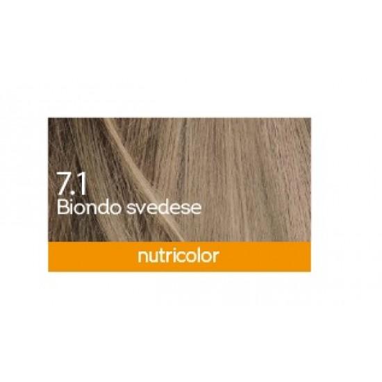 Biokap Nutricolor 7.1, barva za lase  - švedsko blond Kozmetika