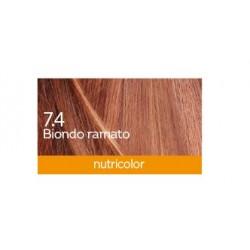 Biokap Nutricolor 7.4, barva za lase  - bakreno blond
