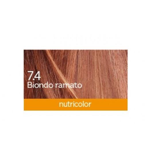 Biokap Nutricolor 7.4, barva za lase  - bakreno blond Kozmetika