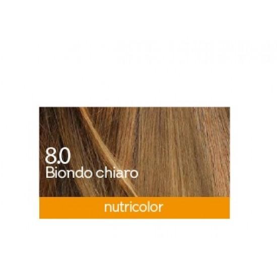 Biokap Nutricolor 8.0, barva za lase  - svetlo blond Kozmetika