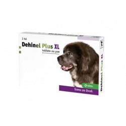 Dehinel Plus XL, tablete