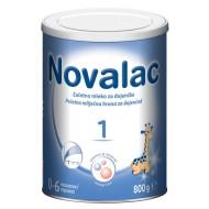 Novalac 1, začetno mleko za dojenčke 0-6 mesecev, 800 g