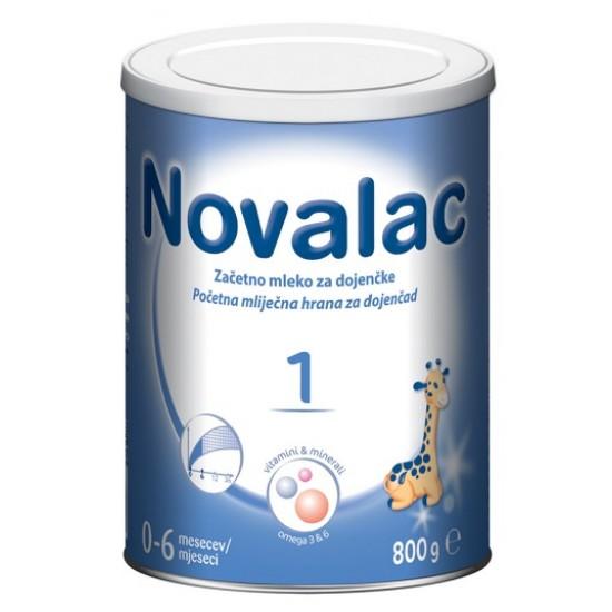 Novalac 1, začetno mleko za dojenčke 0-6 mesecev, 800 g Prehrana in dopolnila