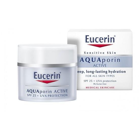 Eucerin AQUAporin Active, vlažilna nega z UV-zaščito za vse tipe kože Kozmetika