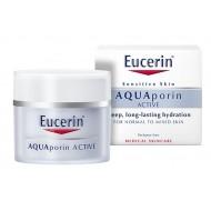 Eucerin AQUAporin Active, vlažilna nega za normalno do mešano kožo