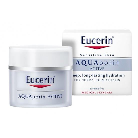 Eucerin AQUAporin Active, vlažilna nega za normalno do mešano kožo Kozmetika