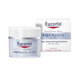 Eucerin AQUAporin Active, vlažilna nega za suho kožo