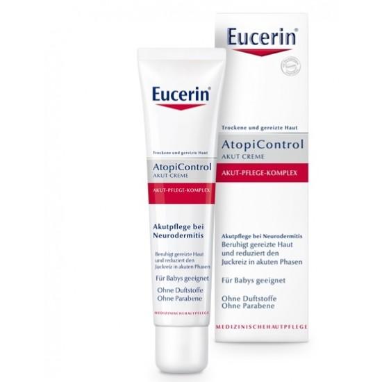 Eucerin AtopiControl acute, negovalna krema  Kozmetika