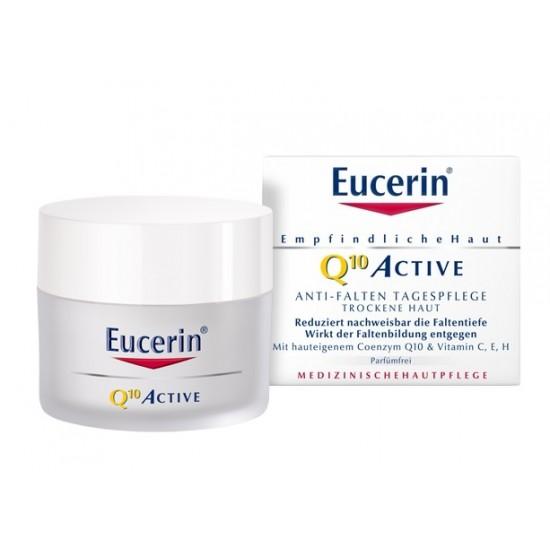 Eucerin Q10 Active, dnevna krema za suho kožo Kozmetika