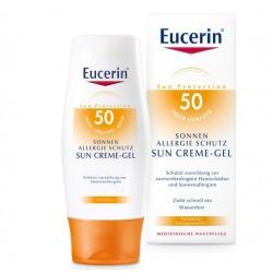 Eucerin Sun, gel za zaščito pred soncem za kožo, nagnjeno k alergijam ZF 50