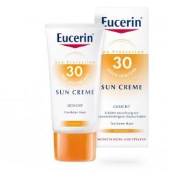 Eucerin Sun, krema za zaščito obraza pred soncem ZF 30