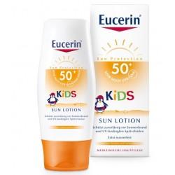 Eucerin Sun, losjon za zaščito otroške kože pred soncem ZF 50+
