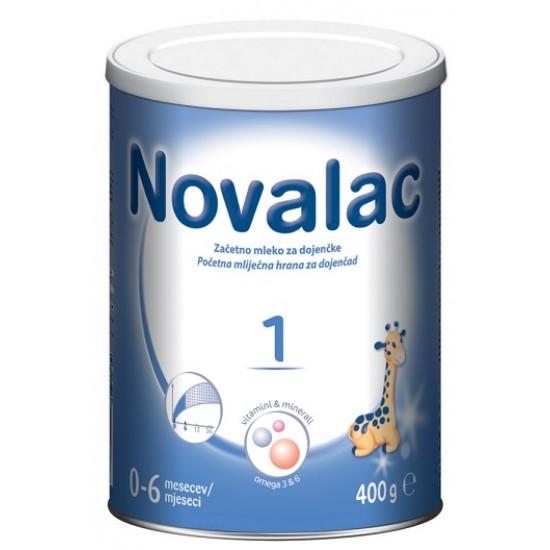 Novalac 1, začetno mleko za dojenčke 0-6 mesecev, 400 g Za Mamice in Nosečnice