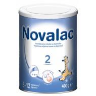 Novalac 2, nadaljevalno mleko za dojenčke 6-12 mesecev, 400 g