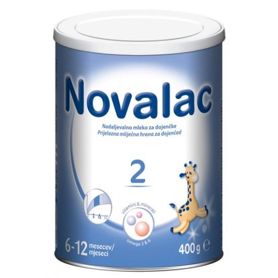 Novalac 2, nadaljevalno mleko za dojenčke 6-12 mesecev, 400 g Za Mamice in Nosečnice