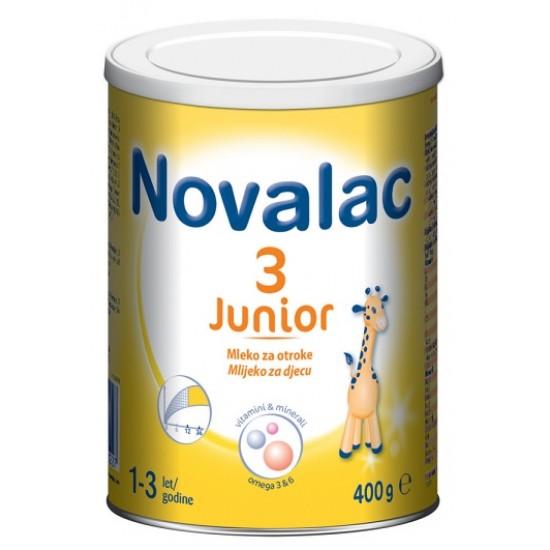 Novalac 3 Junior, nadaljevalno mleko za otroke - 400 g Za Mamice in Nosečnice