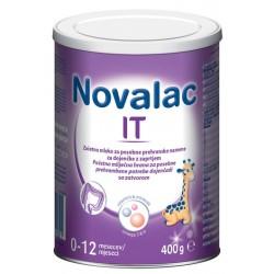 Novalac IT mleko za dojenčke z zaprtjem 0 -12 mesecev, 400 g