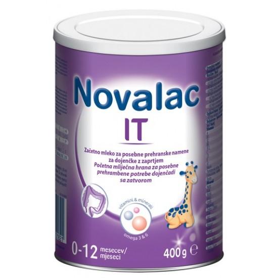 Novalac IT mleko za dojenčke z zaprtjem 0 -12 mesecev, 400 g Za Mamice in Nosečnice