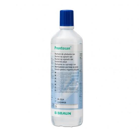 Prontosan sterilna vodna raztopina Pripomočki in zaščita