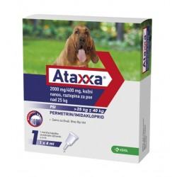 Ataxxa, kožni nanos, raztopina za pse nad 25 kg