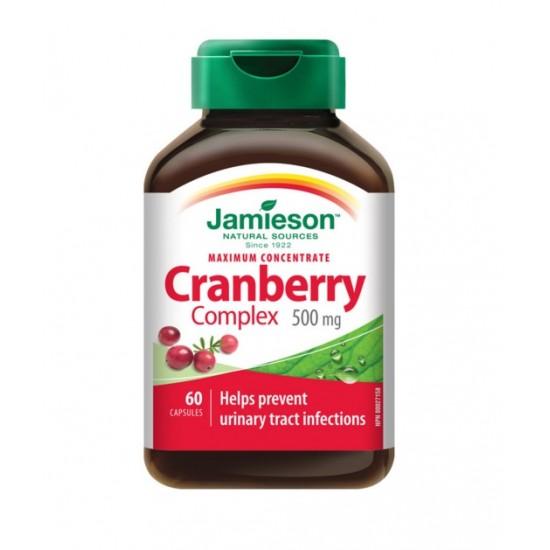 Jamieson Brusnica 500 mg, kapsule Prehrana in dopolnila