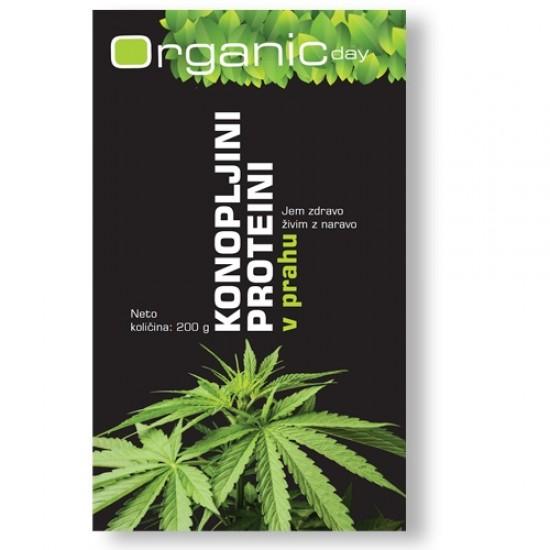 Organic Day, Bio konopoljini proteini v prahu Prehrana in dopolnila