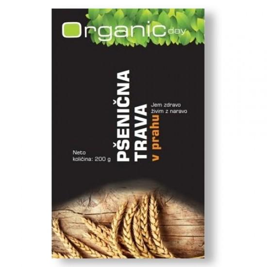 Organic day, Bio pšenična trava v prahu Prehrana in dopolnila
