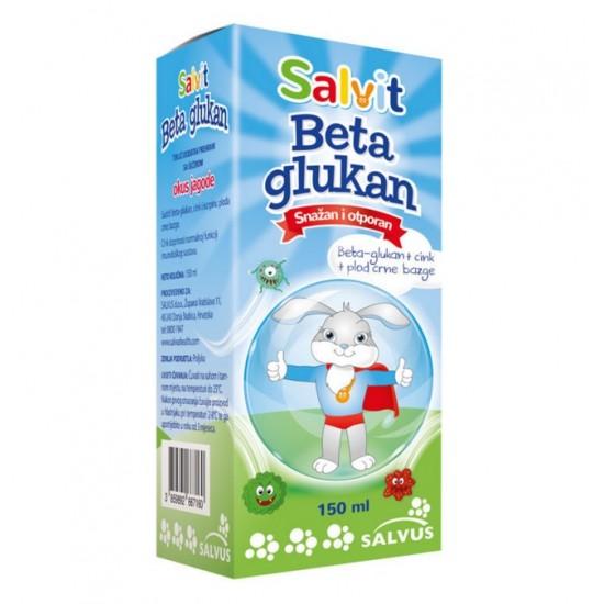 Salvit Beta Glukan, tekočina z okusom jagode Prehrana in dopolnila