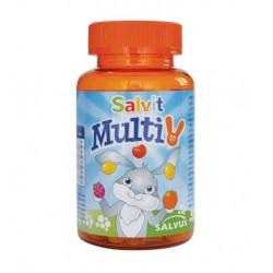 Salvit MultiV, žele bonboni z okusom pomaranče, limone in maline