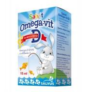 Salvit Omega-vit D, kapljice z okusom mleka