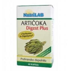 Nutrilab Artičoka Digest Plus, kapsule