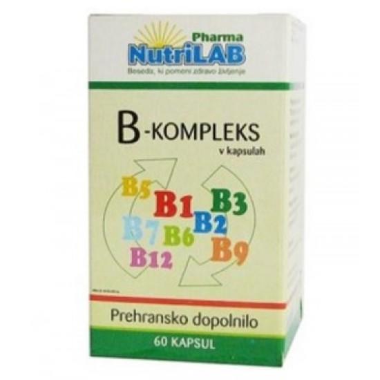 Nutrilab B-kompleks, kapsule Prehrana in dopolnila