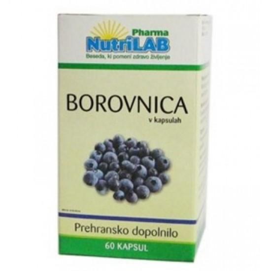 Nutrilab Borovnica, kapsule Prehrana in dopolnila